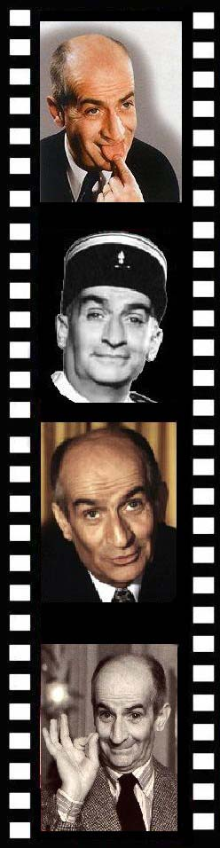 louis de funes photos portraits